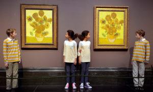 Где можно увидеть картины Винсента Ван Гога