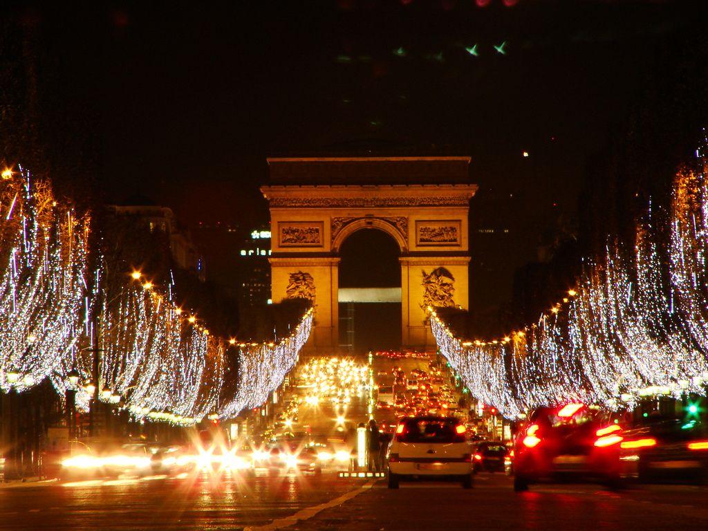 Улицы Парижа, Елисейские поля