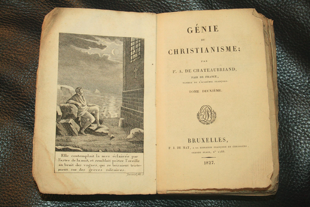 Франсуа Рене де Шатобриан - основатель французского романтизма